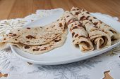 Lefse - Close Up