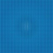 Blue Background Made By Dots
