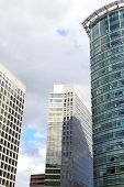 Windows geometry of city skyscrapers.