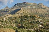 Town of Lalibela Ethiopia. UNESCO World Heritage Site.