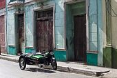 Green Vintage Sidecar