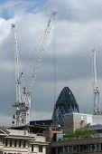 Crane In London