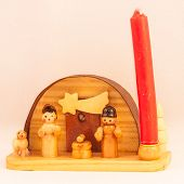 Red Candle Crib