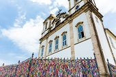 The famous Bonfim Church in Salvador, Bahia, Brazil.