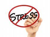 No Stress Words Written By Hand