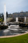 Petershof in der Nähe von Sankt Petersburg, Russland.