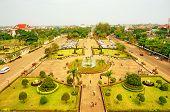 Bird's-eye View Of Asian City