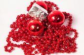 Red Balls Christmas Decoration