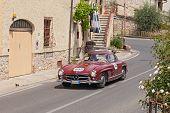 Mercedes-benz 300 Sl W 198 (1955) In Mille Miglia 2014