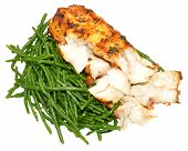 Grilled Fish With Samphire
