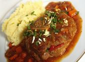 Ossobuco Meal Angled View