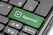 Approved. Green Hot Key On Computer Keyboard.