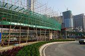 Overhead Bridge Is Built To Ease The Traffic In Macau
