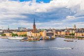 picture of old boat  - STOCKHOLM SWEDEN  - JPG