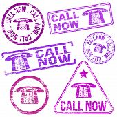 Call Now Stamps