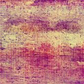 Aging grunge texture, old illustration. With different color patterns: gray; purple (violet); orange; red; brown; yellow