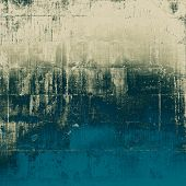 Old antique texture - perfect background with space for your text or image. With different color patterns: gray; blue