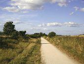 the greenway cycle way and footpath stratford upon avon warwicks