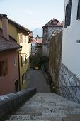 pic of annecy  - Street in the town of Annecy - JPG