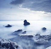 stock photo of crimea  - seashore in Crimea - JPG