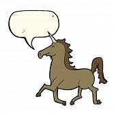 image of unicorn  - cartoon unicorn - JPG
