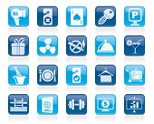 image of motel  - Hotel and motel services icons 2 - JPG