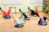 foto of step aerobics  - Health Club - JPG