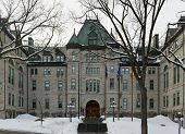 foto of city hall  - City Hall of Quebec City The Hotel de Ville  - JPG