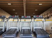 pic of treadmill  - the treadmill for running inside a gym - JPG