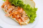 Open Lobster Sandwich