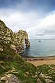 Unesco World Heritage Site Jurassic Coast Dorset England Uk
