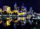 Beautiful Night View of Melbourne