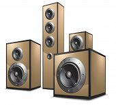 Acoustic System In Gold