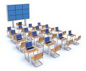 Moderna sala de aula