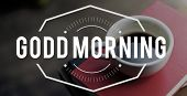 Coffee mania start new day with coffee in morning poster