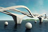 Futuristic Bridge.