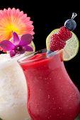 Banana And Raspberry Daiquiri - Most Popular Cocktails Series
