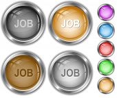 Job. Raster internet buttons. Vector version is in portfolio.