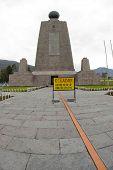 East Equator Line Mitad Del Mundo Middle Of The World Quito Ecuador