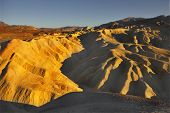 A beautiful and well-known part of Death valley