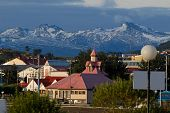 Town Ushuaia, Argentina, South America