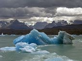 Iceberg In Lake Argentino.