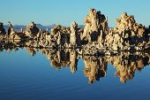 Fabulously beautiful Mono Lake with fantastic riffs. Sunset