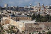stock photo of aqsa  - Holy City of Jerusalem - JPG