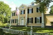 The Longfellow National Historic Site , also known as the Vassall-Craigie-Longfellow House, in Cambridge, Massachusetts