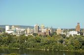 Harrisburg Skyline over the Susquehanna River
