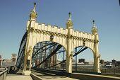 Smithfield Street lenticular truss bridge