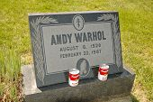 Andy Warhol grave site