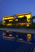 Night Pool Villa