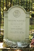 Theodore Roosevelt presidential grave site at Youngs Memorial Cemetery